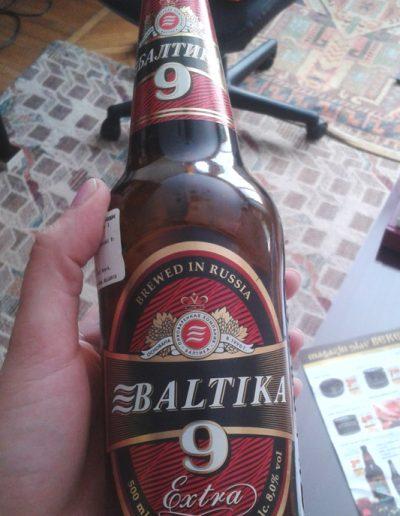 baltika bere neagra berezka