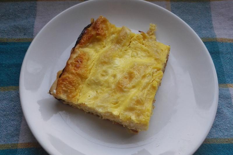 Dobrogeană cu brânză dulce