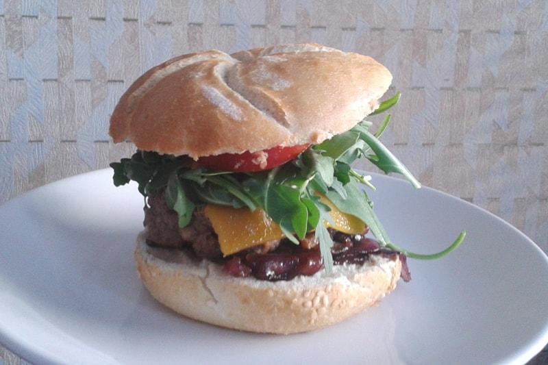 Burger sănătos