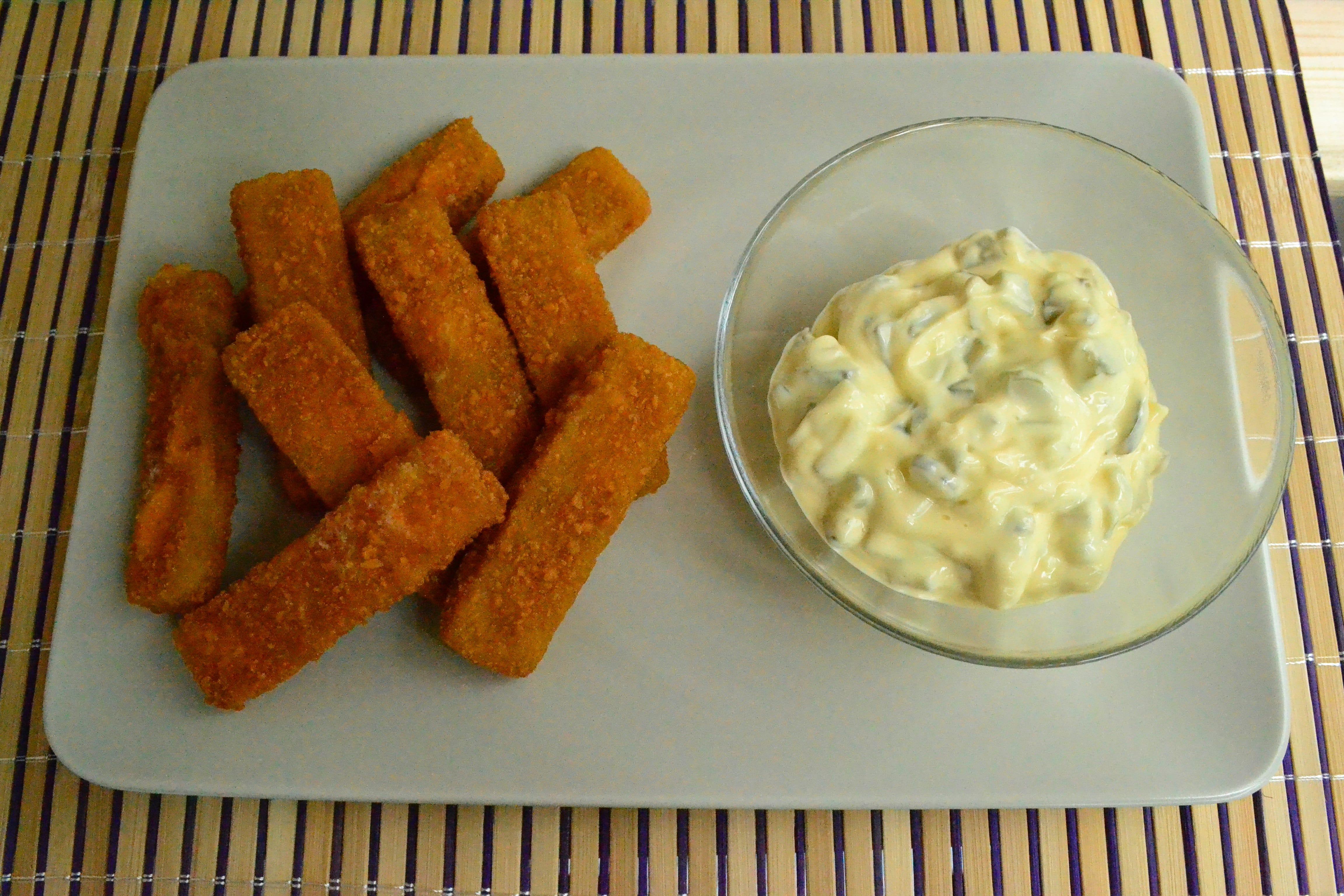 fishsticks cu sos tartar