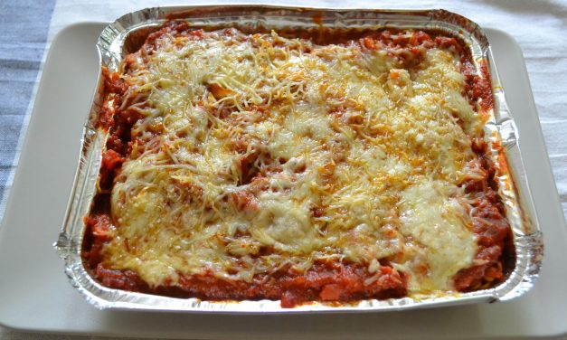 Lasagna pentru burlaci / gameri