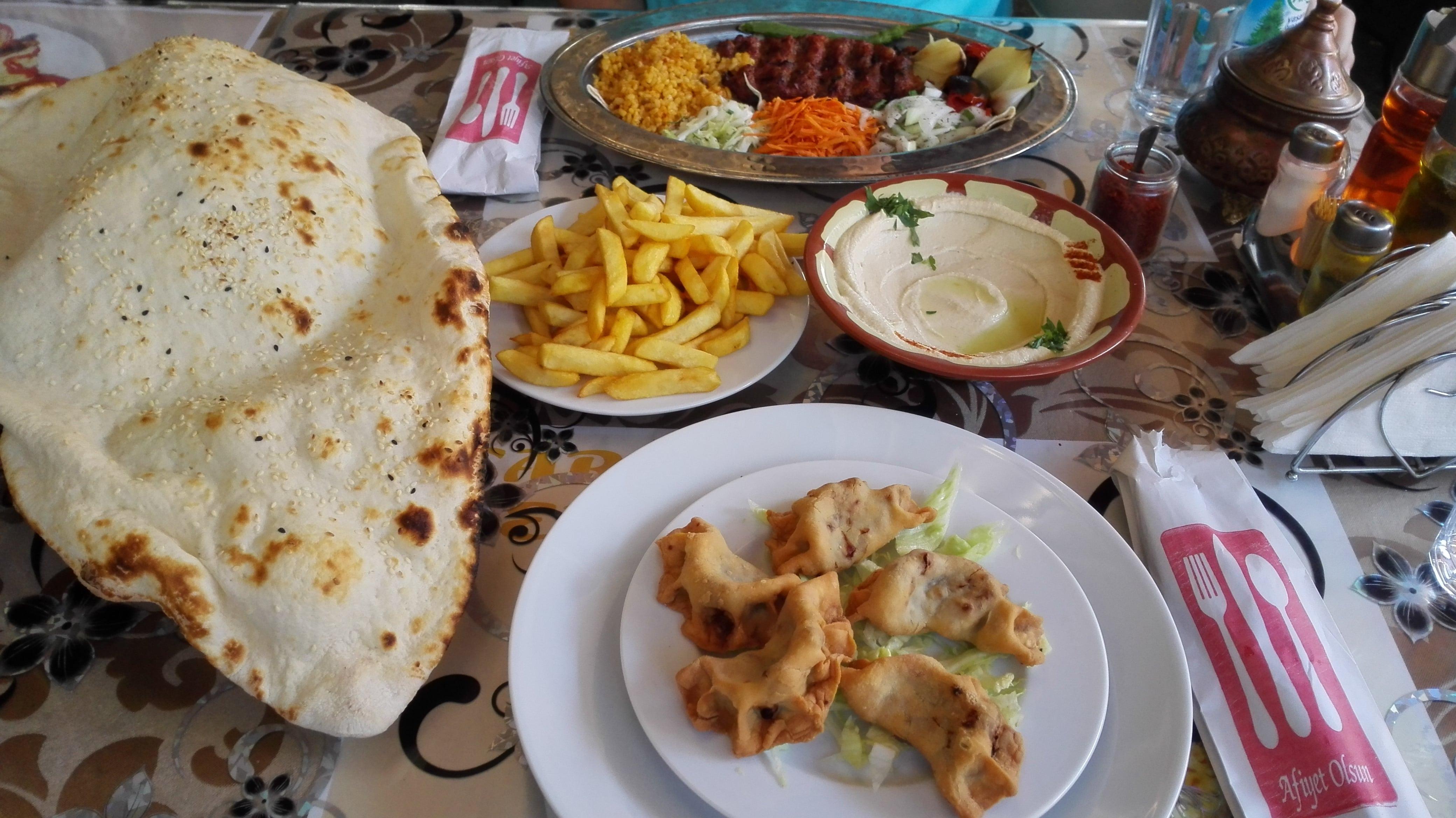 sambuse cu carne kebab lipie ali baba