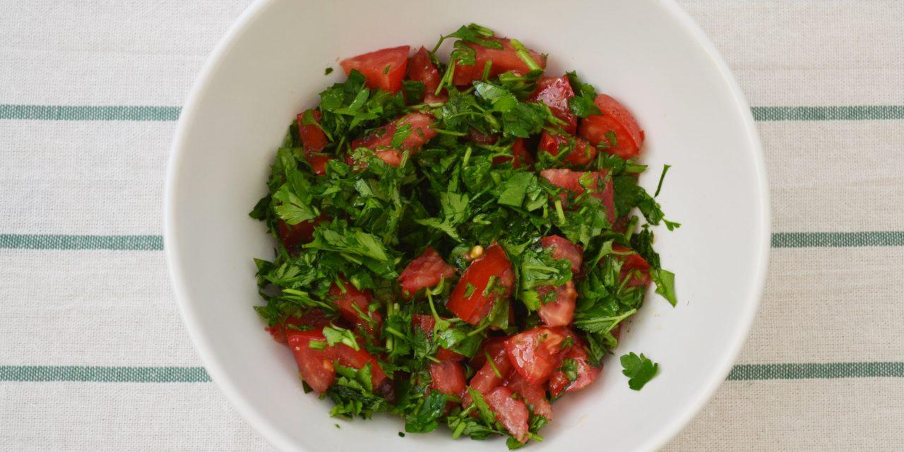 Tabbouleh – salată de pătrunjel libaneză